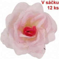 Umelý kvet Ruža vencová Ružová