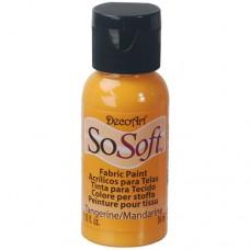 Farba na látku SoSoft Tangerin / Mandarinková