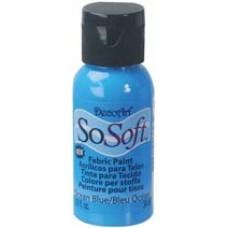 Farba na látku SoSoft Ocean Bleu / Modrá oceánová
