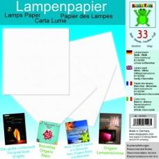Origami papier tepluodolný Biela