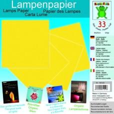 Origami papier tepluodolný Žltá