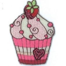 Zažehľovačka Cupcake jahoda