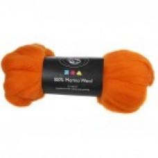Vlna na plstenie Merino Orange / Oranžová