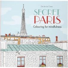 Antistresová omaľavánka Secret Paris