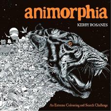 Antistresová omaľavánka Animorphia