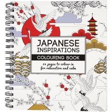 Antistresová omaľavánka Inšpirácie z Japonska