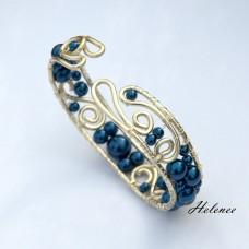 Náramok Elegancia v Modrom