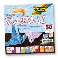 Origami japonský  vzorovaný papier 15x15 cm