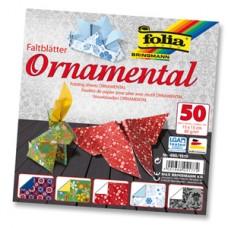 Origami papier Ornamentálny