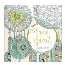 Antistresová omaľovávanka Free spirit