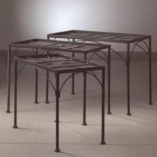 Sada 3 stolov na dekoráciu mozaikou 1