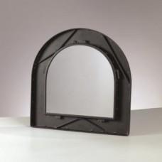 Kovový rám na zrkadlo Polkruh