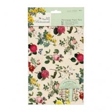 Dekupážny papier Botanical
