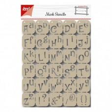 Šablóna Písmo Joy!Craft 2,5 cm
