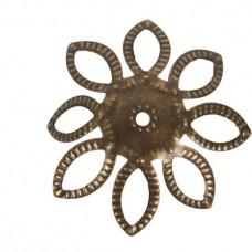 Kaplík Antická zlatá 22 mm