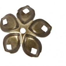Kaplík Antická zlatá 20 mm