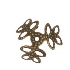 Kaplík Antická zlatá 18 mm