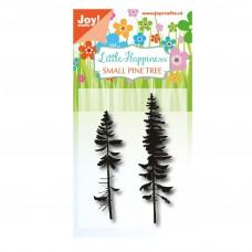 Silikónová pečiatka Joy!Crafts Ihličnaté stromy