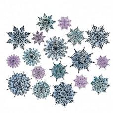 Sizzix Framelits vyrezávacia šablóna Snehové vločky
