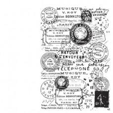 Silikónová pečiatka Poštové pečiatky