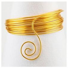 Hliníkový drôt Zlatá - Priemer Ø1 - Ø5 mm