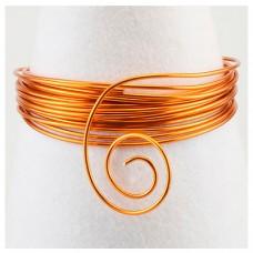 Hliníkový drôt Oranžová šafrán - Priemer Ø1 - Ø4 mm