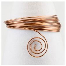 Hliníkový drôt Hnedá - Priemer Ø1 - Ø4 mm
