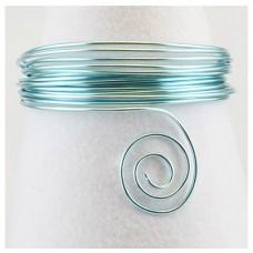 Hliníkový drôt Modrá svetlá - Priemer Ø1 - Ø4 mm