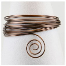 Hliníkový drôt Čokoládová - Priemer Ø1 - Ø5 mm