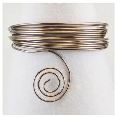 Hliníkový drôt Antracit - Priemer Ø1 - Ø4 mm