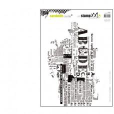 Pečiatka Texture texte A4
