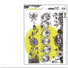 Pečiatka Frises de fleurs merveilleuses A4
