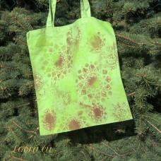 Ručne maľovaná taška Mandaly