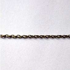 Retiazka 3x4x0,8 Antická zlatá - Bronz