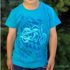 Chlapčenské maľované tričko