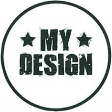 Drevená pečiatka My Design