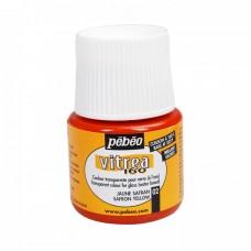 Zapekacia farba na sklo lesklá Saffron yellow / Žltý šafran
