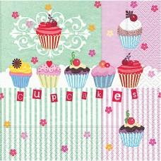 Servítka Cupcakes
