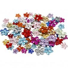 Dekoračné kvetinky s dierkou