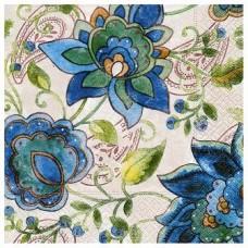 Servítka Kvety modré