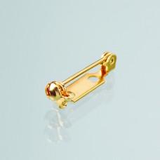 Zatvárací špendlík na brošňu Zlatý