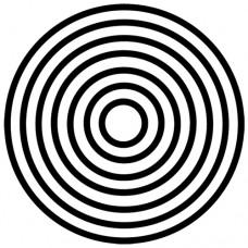 Penová pečiatka Kruhy