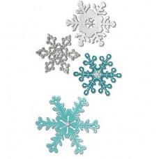 Sizzix Thinlts Snehové vločky 4 ks