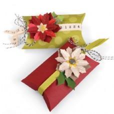 Sizzix Thinlits Krabička a vianočný kvet