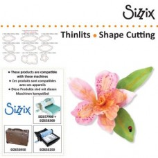 Sizzix Thinlits Orchidea