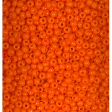 Rokajl matné korálky Oranžová korál