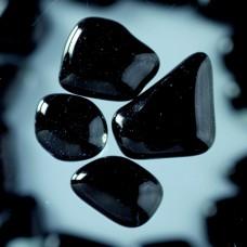 Mozaika Sklenené kamene Čierna