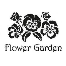 Šablóna Flower