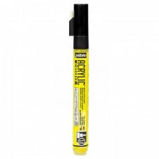 Akrylová fixka Žltá neónová 1,2 mm