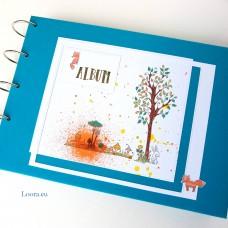 Detský Album na fotky A4 na ležato